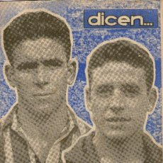 Coleccionismo deportivo: REVISTA DICEN SMITER - BARCELONA - EL REAL Y EL ATLETICO DE MADRID Nº 44. Lote 31311286