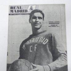Coleccionismo deportivo: ANTIGUA REVISTA DEL REAL MADRID - NOVIEMBRE 1954 - Nº 52 - MIDE 31 X 21,5 CMS - DEPORTE - 32 PAG. AP. Lote 31411241