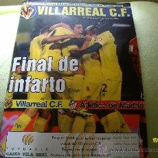 Coleccionismo deportivo: REVISTA OFICIAL DEL VILLARREAL FINAL DE INFARTO Nº 104 MAYO 2012. Lote 31798542