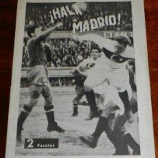 Coleccionismo deportivo: ANTIGUO Y RARISIMO SEMANARIO DEPORTIVO MADRIDISTA, REAL MADRID, FUTBOL - ¡HALA MADRID! NUM. 35 - AÑO. Lote 32077926
