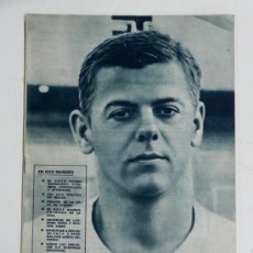 Coleccionismo deportivo: ANTIGUA REVISTA DEL REAL MADRID Nº 151 - DICIEMBRE 1962 - 30 PAGINAS - 31 X 21,50 CMS. - FUTBOL - D. Lote 32111164
