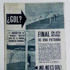 Coleccionismo deportivo: ANTIGUA REVISTA DEL REAL MADRID Nº 154 - MARZO 1963 - 30 PAGINAS - 31 X 21,50 CMS. - FUTBOL - DEPOR. Lote 32111221