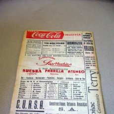 Coleccionismo deportivo: REVISTA, AVANCE QUINIELISTA, MARZO 1959, VALENCIA. Lote 32213190
