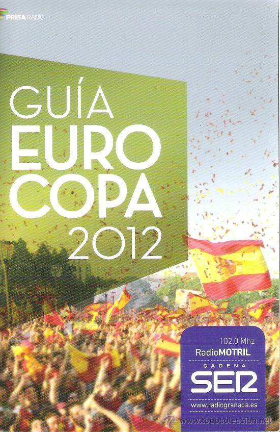 GUIA EUROCOPA DE FUTBOL POLONIA UCRANIA 2012 (Coleccionismo Deportivo - Revistas y Periódicos - otros Fútbol)