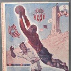 Coleccionismo deportivo: PROGRAMA-BOLETIN DE LA HISTORIA DE LA COPA 1902-1951. F.C.BARCELONA, REAL MADRIS, ESPAÑOL, ETC.... Lote 32386262