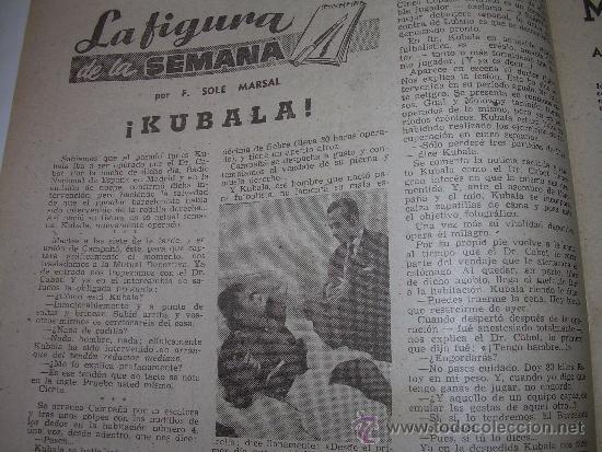 Coleccionismo deportivo: REVISTA DEPORTIVA DICEN...AÑO VI...Nº. 254...AÑO 1.957 - Foto 2 - 32450740