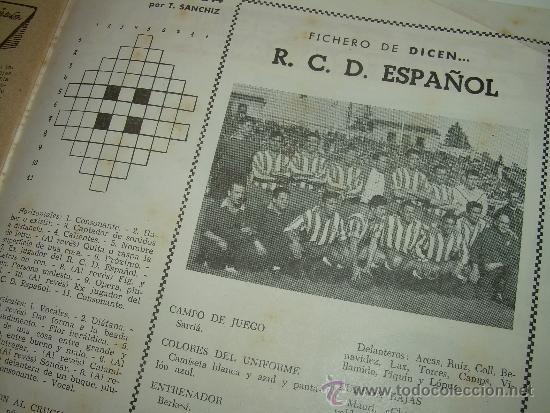 Coleccionismo deportivo: REVISTA DEPORTIVA DICEN...AÑO VI...Nº. 254...AÑO 1.957 - Foto 3 - 32450740