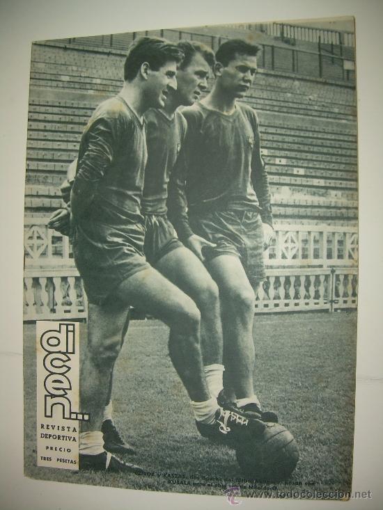 REVISTA DEPORTIVA DICEN...AÑO VI...Nº. 258...AÑO 1.957 (Coleccionismo Deportivo - Revistas y Periódicos - otros Fútbol)