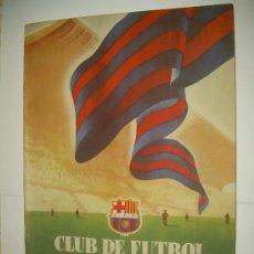 Coleccionismo deportivo: CLUB DE FUTBOL BARCELONA ...REVISTA DE INFORMACION MES DE OCTUBRE DE 1.954. Lote 32451362