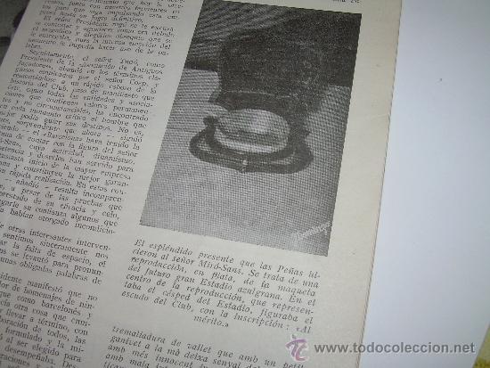 Coleccionismo deportivo: CLUB DE FUTBOL BARCELONA ...REVISTA DE INFORMACION MES DE MARZO DE 1.955 - Foto 2 - 32451464