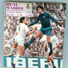 Coleccionismo deportivo: REVISTA REAL MADRID Nº 263 ABRIL 1972 DEL TRIUNFO EN VALENCIA EQUIPO BALONCESTO. Lote 32474185