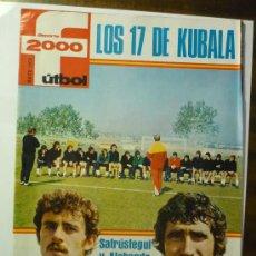 Coleccionismo deportivo: REVISTA DEPORTE 2000 FUTBOL AÑO 1976. Lote 33072289