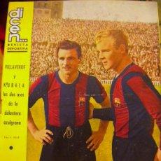 Coleccionismo deportivo: REVISTA DICEN KUBALA Y VILLAVERDE.. Lote 33310550