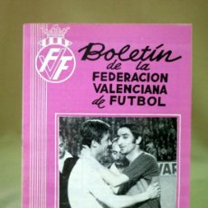 Boletin de la federacion valenciana de futbol s comprar for Federacion valenciana de futbol