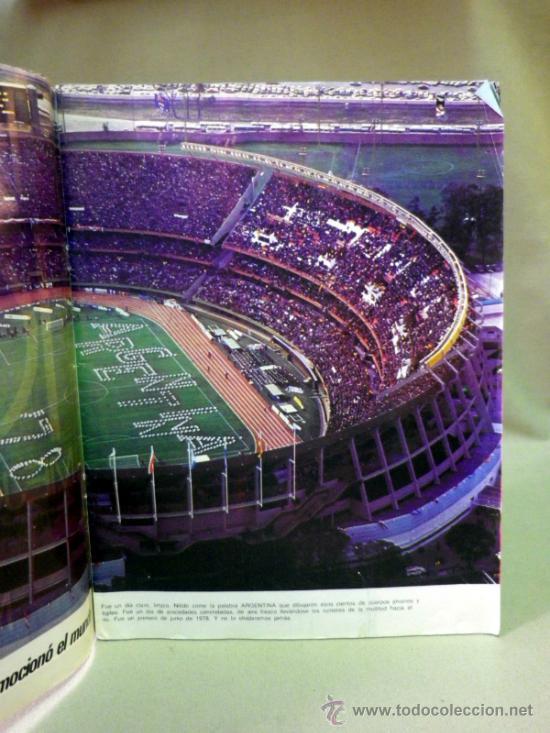 Coleccionismo deportivo: REVISTA, FUTBOL, GRAFICO, LAS 100 MEJORES FOTOS DEL MUNDIAL, ARGENTINA 1978 - Foto 3 - 33427370