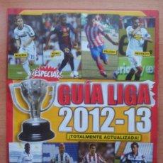 Coleccionismo deportivo: SUPLEMENTO ESPECIAL EXTRA GUIA LIGA 2012-2013 - POSTER REAL MADRID CALENDARIO REVISTA JUGON -. Lote 183330065