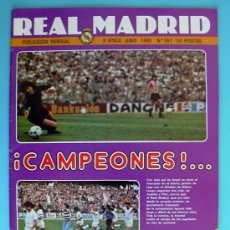 Coleccionismo deportivo: REAL MADRID - BOLETIN MENSUAL Nº 361 - JUNIO DE 1980. Lote 33536110