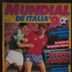 Coleccionismo deportivo: REVISTA MUNDIAL DE ITALIA´90. Lote 88806032