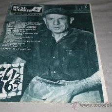 Coleccionismo deportivo: REVISTA DEL R. MADRID Nº 176 ENERO 1965 . Lote 33790091