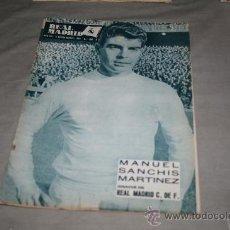 Coleccionismo deportivo: REVISTA DEL R. MADRID Nº 186 NOVIEMBRE 1965. Lote 33793908