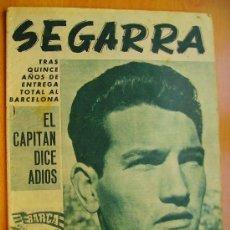 Coleccionismo deportivo: BARÇA Nº458- 29 AGOSTO 1964- NÚMERO ESPECIAL DEDICADO A JUAN SEGARRA-. Lote 34100366