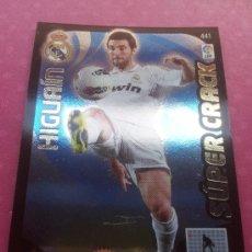 Coleccionismo deportivo: 441 - HIGUAIN (REAL MADRID) SUPER CRACK - ADRENALYN XL BBVA 2011-2012 - PANINI 11/12 . Lote 34400266