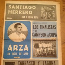 Coleccionismo deportivo: PERIODICO ZARAGOZA DEPORTIVO - DE PAG.19 A PAG 28 (22-6-1970). Lote 34926028