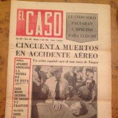 Coleccionismo deportivo: EL CASO - NUM.674 - MADRID 3 ABRIL 1965 / SEMANARIO DE SUCESOS. Lote 34926077