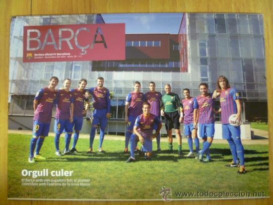 REVISTA; BARÇA Nº 53, OCTUBRE-NOVEMBRE 2011 (Coleccionismo Deportivo - Revistas y Periódicos - otros Fútbol)