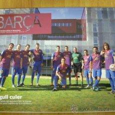 Coleccionismo deportivo: REVISTA; BARÇA Nº 53, OCTUBRE-NOVEMBRE 2011. Lote 35054679