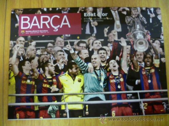 REVISTA; BARÇA Nº 51, JUNY - JULIOL 2011 (Coleccionismo Deportivo - Revistas y Periódicos - otros Fútbol)