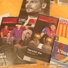 Coleccionismo deportivo: (9005) REVISTAS DEL F.C. BARCELONA DEL AÑO 2012- 6 REVISTAS. Lote 35268819