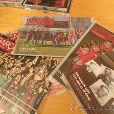 Coleccionismo deportivo: (9003) REVISTAS DEL F.C. BARCELONA DEL AÑO 2011- 5 REVISTAS-. Lote 35268876