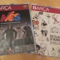 Coleccionismo deportivo: (9000) REVISTAS DEL F.C. BARCELONA DEL AÑO 2008 2 REVISTAS-. Lote 35268932