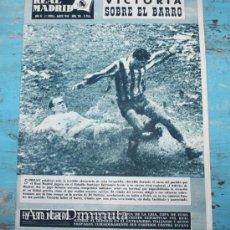 Coleccionismo deportivo: REVISTA REAL MADRID Nº 116 - MARZO 1960 - RUSIA, ITALIA EN CHILE, LIGA INGLESA, CUARTOS DE FINAL COP. Lote 35339802