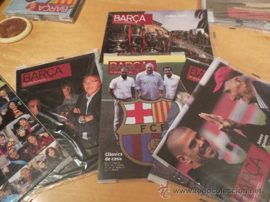 (9004) REVISTAS DEL F.C. BARCELONA DEL AÑO 2010 - 6 REVISTAS (Coleccionismo Deportivo - Revistas y Periódicos - otros Fútbol)