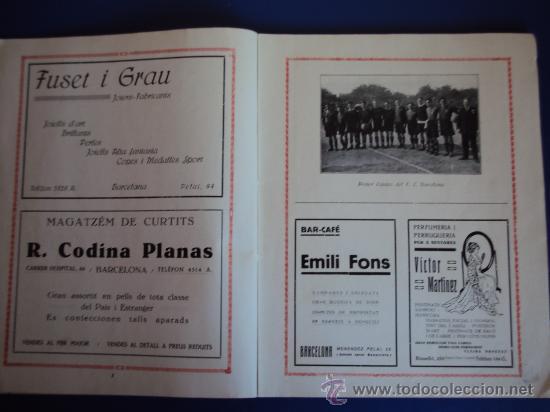Coleccionismo deportivo: (F-220)ALBUM FOTOGRAFIC DE FUTBOL 1925-1926 CLUBS DE CATALUNYA - Foto 4 - 35610704
