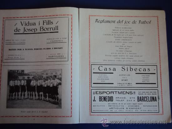 Coleccionismo deportivo: (F-220)ALBUM FOTOGRAFIC DE FUTBOL 1925-1926 CLUBS DE CATALUNYA - Foto 5 - 35610704