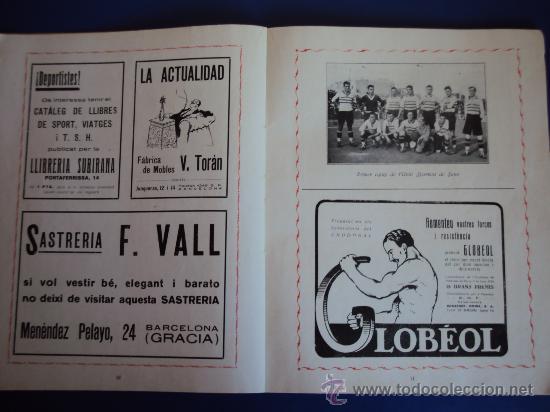 Coleccionismo deportivo: (F-220)ALBUM FOTOGRAFIC DE FUTBOL 1925-1926 CLUBS DE CATALUNYA - Foto 7 - 35610704