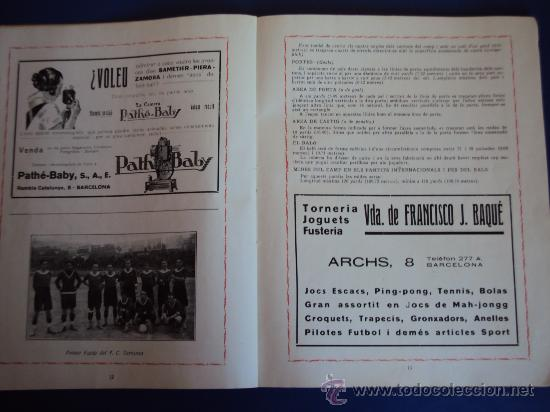 Coleccionismo deportivo: (F-220)ALBUM FOTOGRAFIC DE FUTBOL 1925-1926 CLUBS DE CATALUNYA - Foto 8 - 35610704