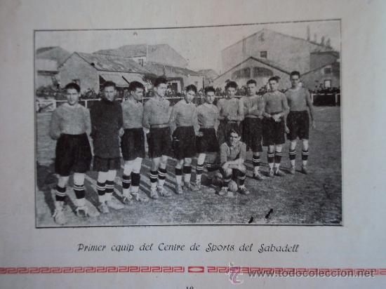 Coleccionismo deportivo: (F-220)ALBUM FOTOGRAFIC DE FUTBOL 1925-1926 CLUBS DE CATALUNYA - Foto 9 - 35610704