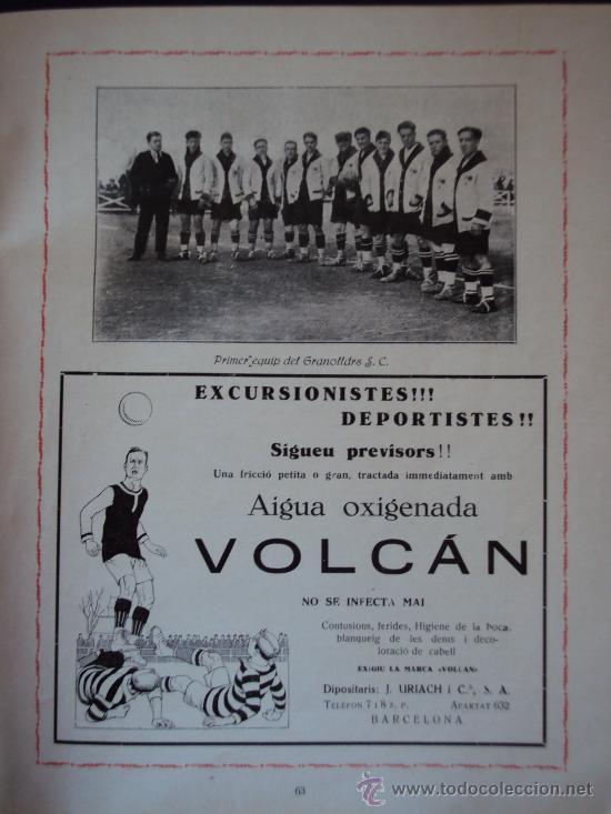 Coleccionismo deportivo: (F-220)ALBUM FOTOGRAFIC DE FUTBOL 1925-1926 CLUBS DE CATALUNYA - Foto 10 - 35610704