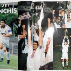 Coleccionismo deportivo: REVISTA REAL MADRID Nº112 MAYO 1999 FUTBOL SPANISH FOOTBALL POSTER SANCHIS.. Lote 35914621