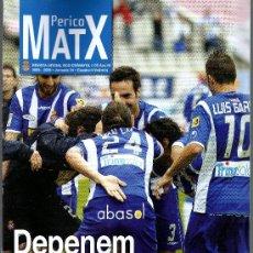Colecionismo desportivo: PERICO MATX Nº 35 REVISTA OFICIAL DEL RCD ESPANYOL (TEMPORADA 2008-2009 · JORNADA 34 · 16 PÁGINAS). Lote 36139192