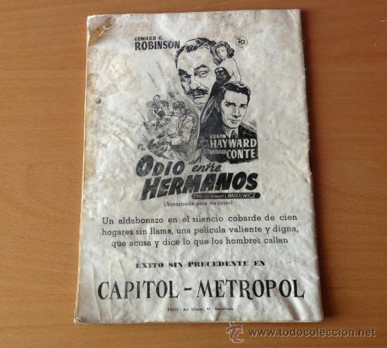 Coleccionismo deportivo: BOLETIN C.F. BARCELONA BASORA BARCELONA -CELTA DE VIGO 16/4/1950 - Foto 2 - 36526880