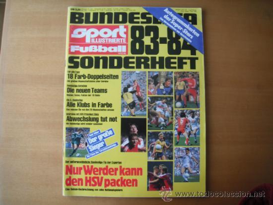 GUIA SPORT FUTBALL.BUNDESLIGA 83/84. VER FOTOS ADICIONALES. (Coleccionismo Deportivo - Revistas y Periódicos - otros Fútbol)