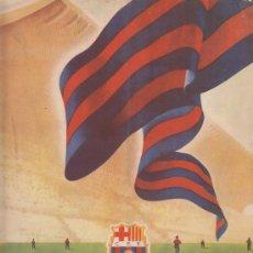 Coleccionismo deportivo: INFORMACIÓN 4 CLUB DE FUTBOL BARCELONA DE OCTUBRE DE 1954 (MONT-FERRANT). Lote 36744926