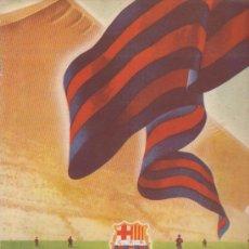 Coleccionismo deportivo: INFORMACIÓN 11 CLUB DE FUTBOL BARCELONA DE MAYO-JUNIO DE 1955 (RADIO IBERIA). Lote 36744982