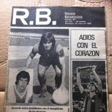 Coleccionismo deportivo: REVISTA BARCELONISTA R.B. Nº 687 1978. Lote 37006201