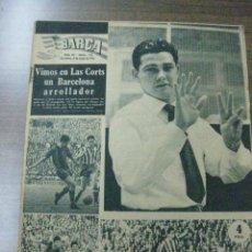 Coleccionismo deportivo: REVISTA BARÇA Nº 72. 3 MAYO 1957. EN PORTADA EULOGIO MARTINEZ. Lote 37062211